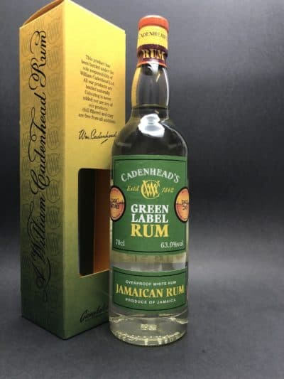 Jamaican white Rum single cask